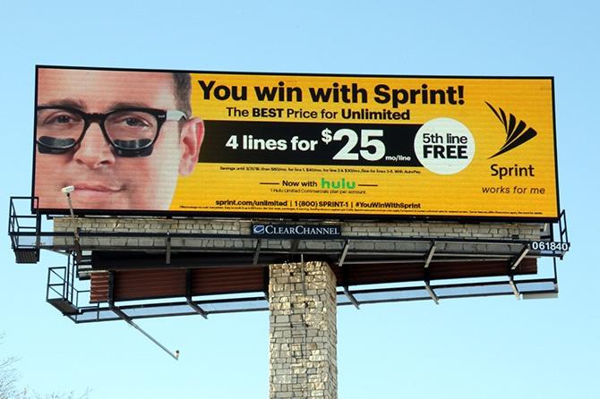 Sprint Digital Billboard